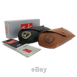 New Authentic Ray-Ban'Rounds' Sunglasses Rb 3447 001 Size 50mm Gold/Grey