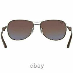 New Authentic Ray-Ban Sunglasses Gunmetal Brown Polarized Lens Men RB3519 029/83