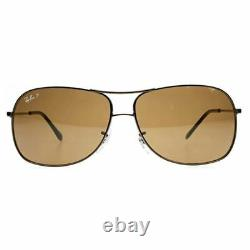New Authentic Ray-Ban Unisex Sunglasses withBrown Polarized Lens RB3267 014/83