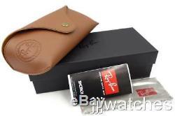 New Ray-Ban Gatsby II Black Silver Gradient Flash Sunglasses RB4256 6253B8 49