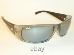 New Ray Ban Highstreet Sunglasses Frame RB 4057 623/40 Silver Mirror