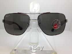 New Ray Ban Rb 3483 004/58 Gunmetal/polarized Sunglasses Rayban