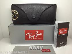 New Ray Ban Sunglasses RB 3138 001 62MM SHOOTER GOLD RB3138