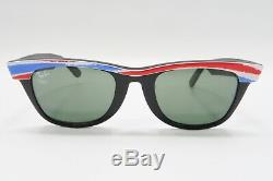 Nice VINTAGE Ray Ban Wayfarer ALBERTVILLE 1992 Sunglasses Olympics A527
