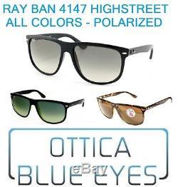 Occhiali da Sole RAYBAN HIGHSTREET RB 4147 Ray Ban Sunglasses AllColor Free Ship
