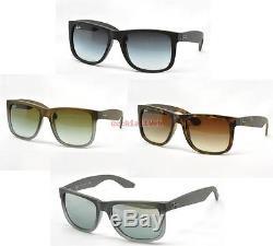 Occhiali da Sole/Sunglasses Ray Ban JUSTIN RB 4165 10 COLORI nuovi, originali