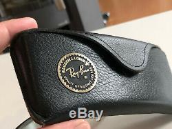 Original Vintage Bausch & Lomb Ray Ban Outdoorsman Precious Metals Arista Black