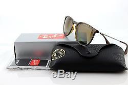 POLARIZED NEW Ray-Ban ERIKA Tortoise Brown Pilot Sunglasses RB 4171 710/T5 54 MM