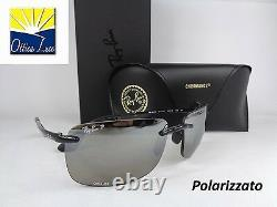 RAY BAN CHROMANCE 4255 601/5J POLARIZZATO SPECCHIATO Sunglass Sonnenbrille Sole