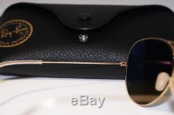 RAY-BAN Mens Designer Polarized Sunglasses Blue Mirror Aviator RB 3025 112/4L