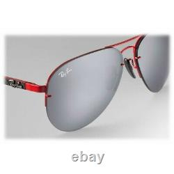 RAY-BAN NEW Limited Sunglasses SCUDERIA FERRARI RB3460M F0126G Mirror Lens