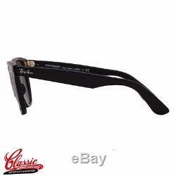 RAY-BAN ORIGINAL WAYFARER SUNGLASSES RB2140 901 Black Frame 54mm