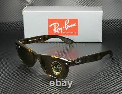 RAY BAN RB2132 710 New Wayfarer Light Havana Crystal Brown 55 Unisex Sunglasses