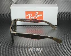 RAY BAN RB2132 894 76 New Wayfarer Havana Blue Green Polarized 52 mm Sunglasses