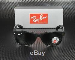 RAY BAN RB2132 901 58 Black Crystal Green Polarized 55 mm Men's Sunglasses