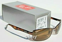 RAY-BAN RB3478 POLARIZED Sunglasses Havana Brown/Crystal Brown 014/57 60 NEW