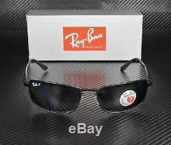 RAY BAN RB3498 006 81 Matte Black Polarized Gray 61 mm Men's Sunglasses