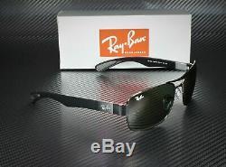 RAY BAN RB3522 004 71 Gunmetal Green 64 mm Men's Sunglasses