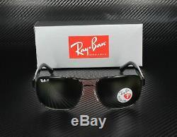RAY BAN RB3530 002 9A Black Polarized Green 58 mm Men's Sunglasses