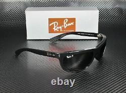 RAY BAN RB4089 601 58 Black Crystal Green Polarized 62 mm Men's Sunglasses