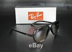 RAY BAN RB4125 601 32 Black Crystal Grey Gradient 59 mm Men's Sunglasses