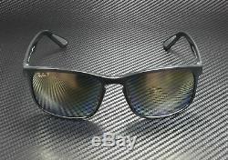 RAY BAN RB4264 601 J0 Black Blue Mir Gold Grad Polarized 58 mm Men's Sunglasses
