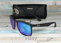RAY BAN RB4264 601SA1 Matte Black Blue Flash Polarized 58 mm Men's Sunglasses