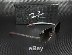 RAY BAN RB8301 004 51 Gunmetal Brown Gradient 59 mm Men's Sunglasses