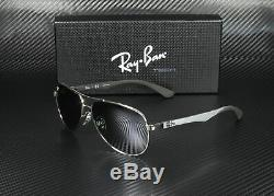 RAY BAN RB8313 003 40 Silver Grey Mirror 58 mm Men's Sunglasses