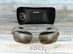 RAY BAN RB8318CH 121 A2 Shiny Light Brown Grey Polarized 62 mm Men's Sunglasses