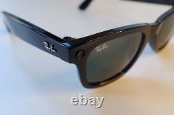 RAY-BAN STORIES Facebook Smart Glasses WayFarer Sunglasses 2021 black