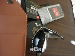 RAY BAN SUNGLASSES AVIATOR ULTRA FOLDING RB3479KQ 003/N4 GOLD 22Kt LE PILOT NEW
