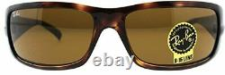 RAY-BAN SUNGLASSES RB4057 642 Havana Frame With Dark Brown Lens BRAND NEW IN BOX