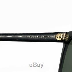 Rare Vintage B&L Ray Ban 1950s 1st Generation Wayfarer G15 withCase Bausch & Lomb