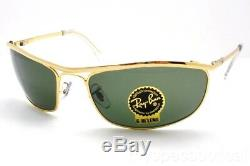 Ray Ban 3119 Olypian G15 New Authentic 001 Gold Sunglasses