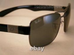 Ray Ban 3522 Gunmetal w Grey Lens NEW sunglasses (RB3522 004/71 61mm size)
