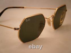 Ray Ban 3556N Gold w Green Crystal (G-15) Lens (RB3556N 001)