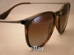 Ray Ban 4171 Erika Havana w Brown Gradient Polar Lens (RB4171 710/T5)