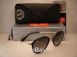 Ray Ban 4253 Black w Grey Gradient Lens (RB4253 601/71 50 mm size)