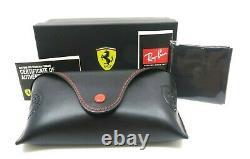 Ray-Ban 4297M F626/6G Ferrari Collection Scuderia Shield Matte Grey Sunglasses