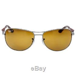 Ray-Ban Active Pilot 59mm Sunglasses Polarized Brown Classic