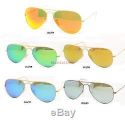Ray Ban Aviator 3025 A Goccia Specchiati, Tutti I Colori Nuovi Satinati