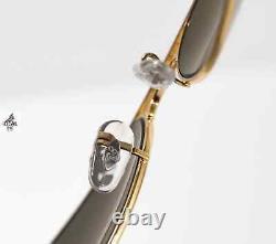 Ray-Ban Aviator Classic POLARIZED Gold Sunglasses Green Lens RB3025 001/58 58mm