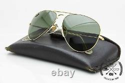 Ray Ban Aviator Precious Metals B&L U. S. A Vintage Occhiali da Sole Sunglasses