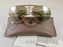 Ray Ban B&L THE GENERAL 50 Anniversary 1937-1987 Aviat Sunglasses 5814 Vintage