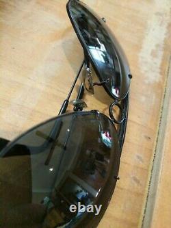 Ray Ban B & L USA 62 mm Vintage Aviator Dark Black Shooter's Sunglasses & Case