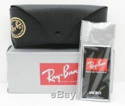Ray Ban Balorama 4089 820/31 Striped Havana G15 New Sunglasses AUTHENTIC