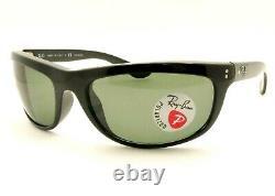Ray Ban Balorama 4089 Black New Authentic Sunglasses 601/31 or 601/58 Polarized