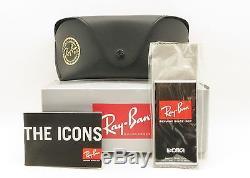 Ray Ban Balorama 4089 Black New Authentic Sunglasses 601/58 Polarized