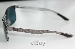 Ray Ban CHROMANCE POLARIZED Sunglasses RB8319CH 9075J0 Gunmetal With Blue Mirrored